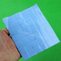 36pcs/set 15x15x1mm Silicone Conductiive Compounds Thermal Pad For Heatsink Laptop IC GPU BGA Chip VGA Card