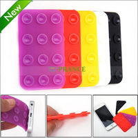 Double-Side Suction Cup Anti-Slip Pad Mat Mount for Cell Phone / Small Gadgets