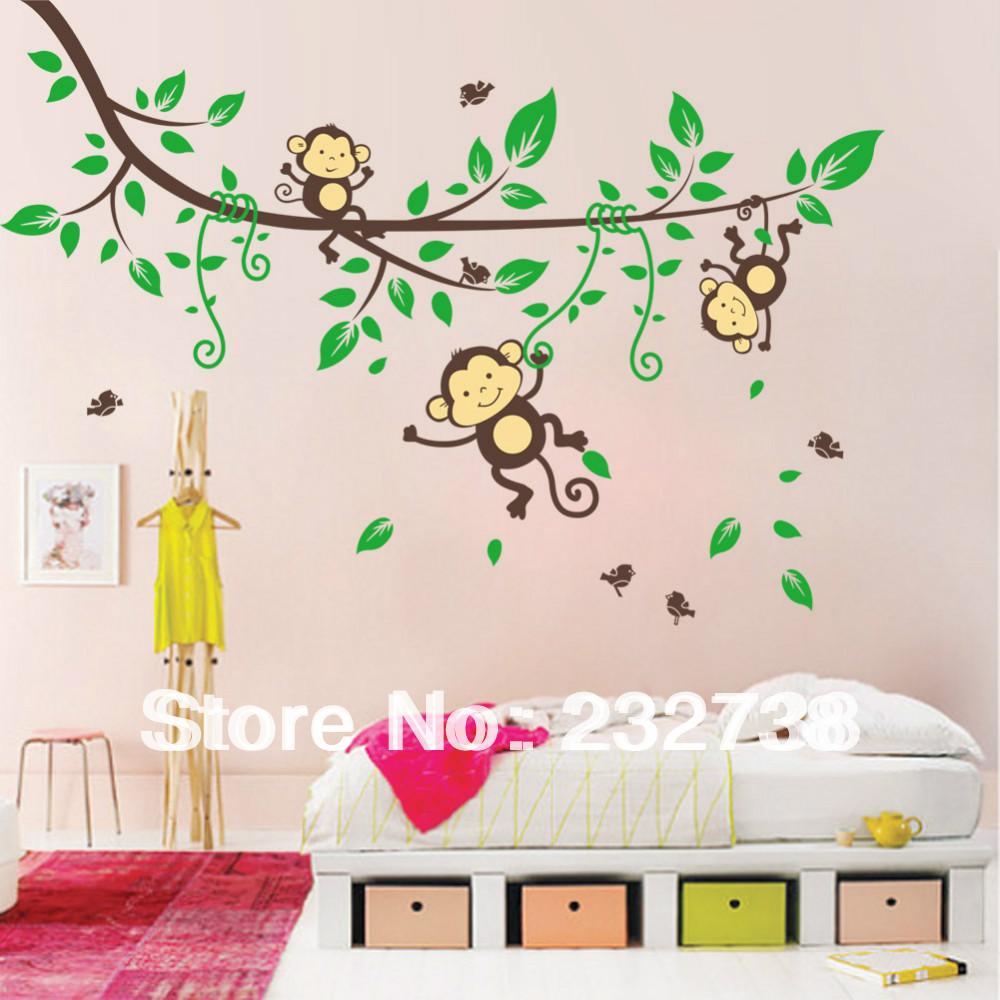 Aap kamer decoraties promotie winkel voor promoties aap kamer decoraties op - Nieuwe ontwerpmuur ...