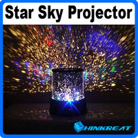Amazing Flashing Colorful Sky Star Master Night Light Sky Starry Star Projector Holiday LED Light Free Shipping