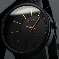 Brand New Mens Luxury Full Steel Quartz Watch Analog Men's Watch