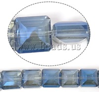 Free shipping!!!Imitation  Element Crystal Beads,2013 womens european fashion, Square, imitation  crystal & machine faceted
