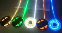 6roll/lot wholesale 5M per Roll LED Strip IP65 Waterproof 300pcs LED SMD 3528 LED Strip Lighting 12V Free Shipping