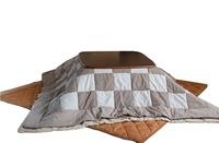 (2pcs/set)  Square195*195cm Japanese Kotatsu Futon blanket Set