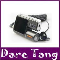 Free Shipping Car Dvr HD 720P 1.0 Mega Pixels With 120 Degree Wide Angle Car Black Box i1000(P-05A)