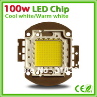 3X 100w led chip for flood light warm white 3000k - 3200k cool white 6000k - 6500k 8000-9000lm high power wholesale 100 watt