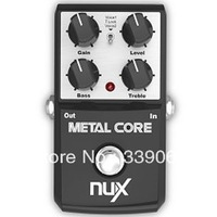 Nux Guitar Effect Pedal/Stomp Boxes/Core series/Metal Core Distortion guitar pedal True Bypass Wholesale