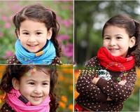 Baby Knitting Scarves 5 Colors in Stock 2013 New Style Designer Muffler Brand Scarf Kids Girl Autumn Winter Neck Warmer Gift
