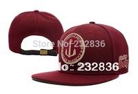 Pink Dolphin Ocean Academy Strapback in Maroon hats football hat snapback baseball cap hockey basketball caps