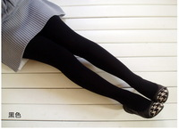Женские носки и Колготки SMILE MARKET 2pcs/lot 95-105CM New Winter Brushed Stirrup Leggings