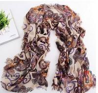 lenco, bufanda, scarf, paris trip scarf, national flavor big size scarf,  Elegant and classic style printed scarf--Free shipping