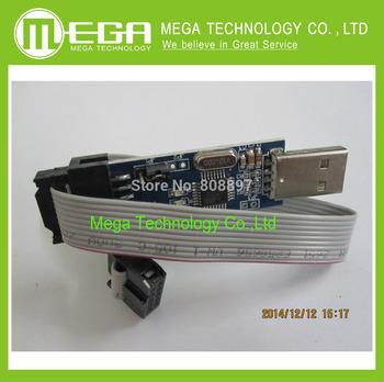 WholeSale New USBASP USBISP AVR Programmer USB ATMEGA8 ATMEGA128