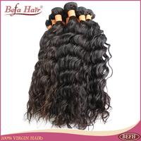 New peruvian hair virgin french curly hair 4pcs lot free shipping human hair wavy extension 6A befa hair products free shedding
