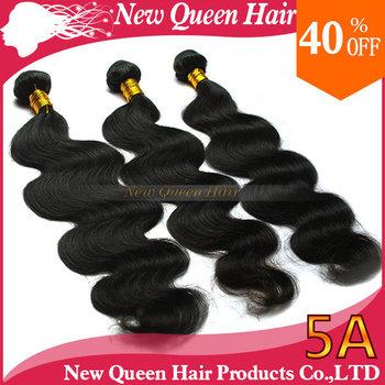 Brazilian virgin remy hair body wave human hair 1b# bundle 3pcs/lot mixed length sunlight mocha new queen luvin hair products