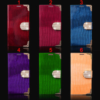 Hot Item Luxury for  iphone 5 5g 5s Leather Wallet Cover Glittering Flip Case ,20pcs/lot,DHL Free Shipping