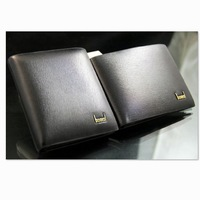 2014 New Fashion High Quality PU Leather Short Design Men's Wallets Card Holder Famous Brand Wallet For Men Purses