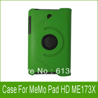 1PC 360 Rotating Leather Stand Case Cover For ASUS MeMO Pad HD 7 ME173X ME173 7 inch Tablet 7''