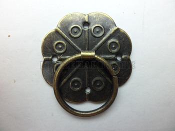 free shipping 100pcs vintage 30mm x 30mm  Knob Pull Handles for box