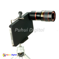 Free shipping Update New 8X Zoom PH-8LT(Metal Material) Mobile Phone Telescope Camera Lens