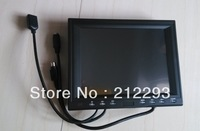 china factory ! 8 inch touch usb monitor with 2AV/VGA/USB touch for industrial control +free shipping