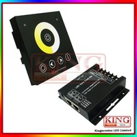 led strip remote touch controller wall mounting panel color temperature dimmer 12V-24V Free Shipping