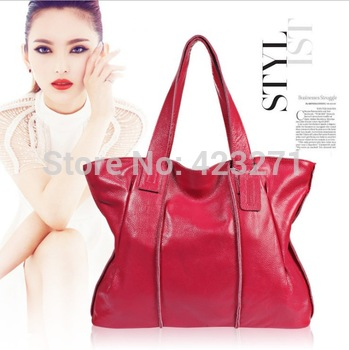 Fashion Women Leather Handbags Genuine Leather Women Shoulder Bags Leather Women Bag HB-049