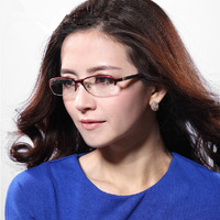 Parzin 2013 Aluminium Magnesium Alloy Eyeglasses Frame Optical Frames Half Box Women's Glasses frame