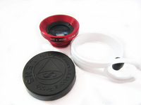 New Arrival! Universal Circle Clip 0.67X Wide Angle & Macro Lens Camera for iPhone Blackberry HTC,all smartphone 50pcs/lot