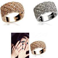 New  Korean Jewelry Wholesale  Luxury Full  Ring B581B683