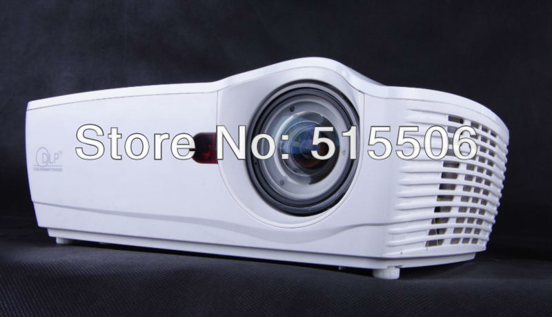 New arrival !! 4500 lumens 120HZ dlp link active shutter 3D dlp short throw projector,portable dlp education projector free ship(China (Mainland))