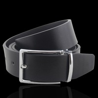 Men's Leather Needle/Crime Brand Belt/Military Belt Buckle Belt/Rotating Buckle Double-Sided Available/Free Shipping