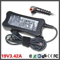 65W 19V 3.42A AC Adapter Power Supply Charger For Lenovo IdeaPad G530 G550 G555 G560 Y450 Y530 Y470 U450 U550