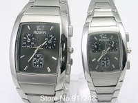 2013 Best Selling 2pcs/lot  Korean Fashion Steel Watch Couple Watches Cheap Wristwatch Wholesale Gifts Free Shipping