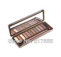 100% Original Brand Nake 12 Color Professional nk2 Eye Shadow Palette Long-Lasting Natual Easy To Wear Free Shipping