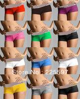 Free Shipping 2013 women ladies print seamless boxer boyshort booty shorts panties underwear knickers intimates underpants