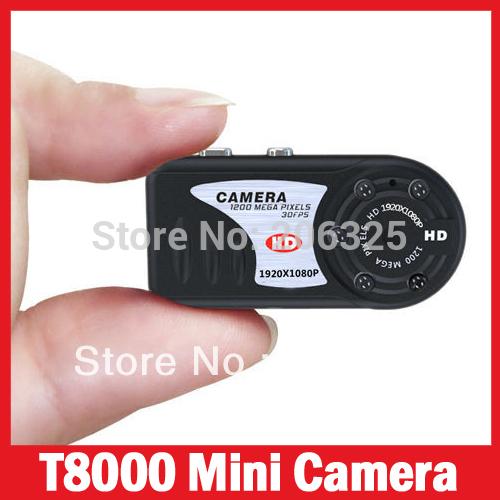T8000 1080p full hd vision nocturne caméscope mini dv pouce caméra ...