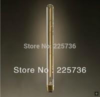 Free shipping T30 antique edison light bulb Vintage flute light bulb classic bulb light source euchromatin tubular bulb