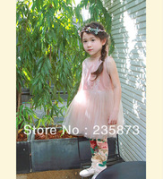 Wholesale - Kids 2013 Autumn girls dress chiffon chiffon suspender girls princess dress, the best gift for children