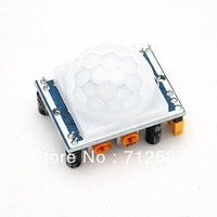 HC-SR501 HC SR501 NEW Adjust Infrared IR PIR Motion Sensor Detector Module Security Motion HC-SR501 FREE SHIPOPING 3240