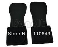 New Black Gel Weight Lifting Training Gym Grips Straps Gloves TK0943