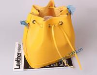 New Arrived Have  Trademark LOGO Genuine Leather Epi Water Ripple Bucket Bag Inclined Shoulder Bag Noe BB Handbags Free Shopping