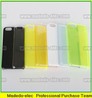 FREE Screen Protector + Clear Hard case thin for iphone 5C - Crystal Clear
