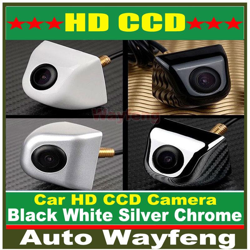 Factory Price HD CCD Car Rearview Camera Waterproof night vision Wide Angle Luxur car rear view camera reversing Backup Camera(China (Mainland))