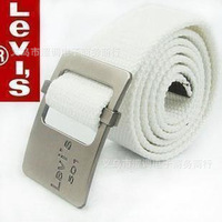 Classic 501 Mens Canvas Belt men's fashion leisure wild female belt wholesale can be mixed batch