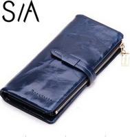 Fashion women's designer wallet multifunctional purse New genuine leather Wallets high quality card holder carteira feminina