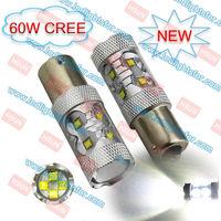 60W CREE LED HIGH POWER,P21 5W PY21W P21W LED CAR,S25 7507 1156 1157 LED LIGHT,BAU15S BA15S BAY15D LED TAIL LIGHT