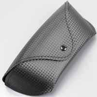 Hot ! Buckle Aviator Sunglasses Box PU Fabric Case 3025 3026 Frog  Mirror Glasses Box Fashion Black Flock Eyeglasses Bag