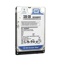 2.5'' 320GB Laptop Hard Disk SATA Western Digital High Speed SUPERIA WD3200LPVX