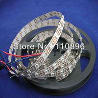 Dc 5v White Pcb 4m Digital 5050 rgb LED Strip ws2812b ws2811 60 pixel/m Christmas Home Decoration Flexible Lights; Magic Color