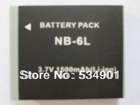 1 PCS NB-6L NB6L Li-ion 3.7V 1500mah Battery  for Canon PowerShot SD1200 SD1300 SX500